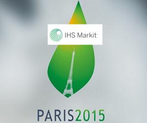 """IHS Markit: """"Paris, nós temos um problema: as maiores economias do mundo não estão obtendo políticas adequadas para evitar o pior das mudanças climáticas."""""""