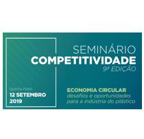 9ª Edição Seminário de Competitividade – Economia Circular: Desafios e Oportunidades para a Indústria do Plástico.