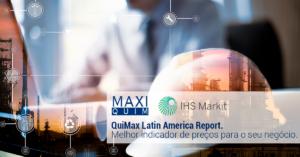 Preços de resinas e suas matérias-primas na América Latina.