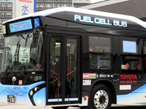Transporte urbano movido a hidrogênio.